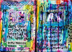 daisy yellow- Art Journaling 101 - How start an art journal. From inspiration to process, materials, and may other ideas! Art Journal Tutorial, Creative, Art, Yellow Art, Bookbinding, Abstract, Art Journal, Creative Art, Book Art