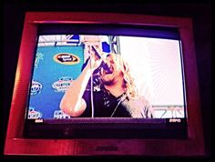 My buddy @CalebJohnson did a SUPERB job singing The National Anthem #NASCARMiami #FordChampWknd #SprintcupSeries
