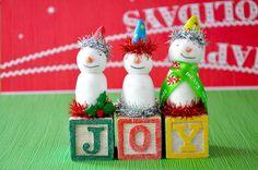 little bit funky etsy store - J-O-Y  cute idea