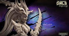 TGG2 - Update #49 – Blood Vestals (Dark Elves Fantasy) | Raging Heroes