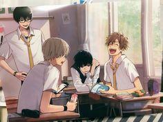 Manga Anime, Fanarts Anime, Anime Guys, Anime Characters, Aesthetic Art, Aesthetic Anime, Character Drawing, Character Design, Anime Classroom