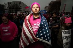 The Women Who Marched on Washington, in Their Own Words
