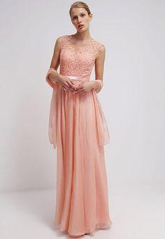 Lange kleider apricot