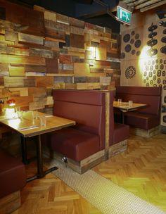 Giraffe bar & grill by Harrison, Sheffield store design