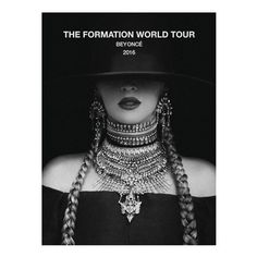 FORMATION TOUR POSTER