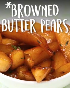 Browned Butter Pears -Tasty - Food Videos And Recipes Fruit Recipes, Cooking Recipes, Recipes For Pears, Pear Dessert Recipes, Cooking Fish, Recipies, Fruit Dishes, Tasty, Yummy Food