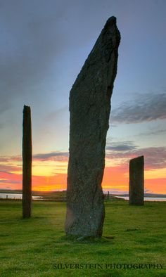 Standing Stone sites in Scotland