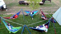 Camping Hammock Two 2 Person Outdoor Camping Hammock With Rain Fly Diy Abschnitt, Eno Hammock, Backyard Hammock, Portable Hammock, Hammock Stand, Camping Hammock, Oasis Backyard, Camping Beds, Hammock Ideas, Bushcraft Camping