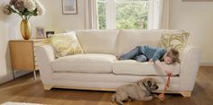 3 Seater Formal Back Sofa  DFS  £850
