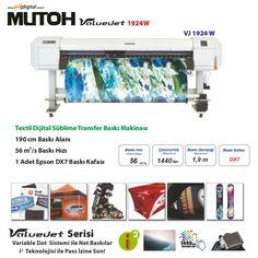 Mutoh Türkiye Dijital Baskı Makinaları Türkiye Distribütörü Prodigital. Mutoh kendisini kanıtlamış dünyada üretilen baskı makineleri arasında Reklamcılık, Dijital Tekstil ve UV Baskı konusunda yerini almıştır. Üstün teknolisi ve kaliteli işçiliği ile ve Prodigital Garantisi ile Türkiye'de satışa sunulmuştur. Etkin teknik servis ve satış sonrası ekibi ile sizi de kaliteli üretime taşımaya hazırız. Mutoh sahibi olduğunuzda …