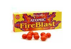 ATOMIC FIREBLAST BOXES RETRO SWEETS CANDY HOT CINNAMON x5