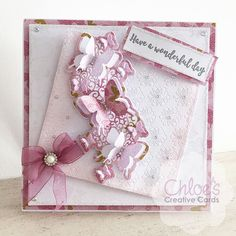 Chloes Creative Cards Craft, Cardmaking and Papercraft Supplies Butterfly Birthday Cards, Butterfly Cards, Happy Birthday Cards, Chloes Creative Cards, Stamps By Chloe, Daisy Petals, Beautiful Handmade Cards, Fun Fold Cards, Making Ideas