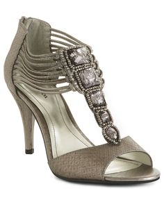 Style Shoes, Nathalie Sandals - Pewter Shoes - Macy's