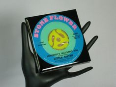 Little Sister Collectable Record Drink by ROCKANDROLLCOASTERS, $6.50