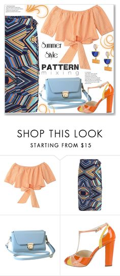 """""""Work Wear :: Pattern Mixing"""" by jecakns ❤ liked on Polyvore featuring Prada"""