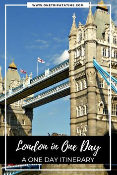 Check out our detailed itinerary to find out what you can see and do in this amazing city, even if you've only got a single day in London| www.onetripatatime.com