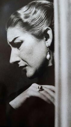 Maria Callas em 1954.