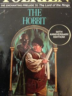 Horrible Book covers of good fantasy books ... this edition of The Hobbit, by J.R.R. Tolkien