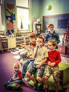 NEW! Music Lab and Classroom NOW OPEN on the North Shore Academy of the Arts' third floor! REGISTER ONLINE FOR OZAUKEE…