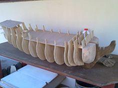Ship Model Craft /1000craft Ideas Model Sailing Ships, Old Sailing Ships, Model Ships, Wooden Model Boats, Model Ship Building, Free Paper Models, Black Pearl Ship, Model Boat Plans, Wooden Ship