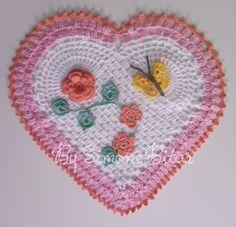 <3 Centrinho Coração <3 Quer ver mais? Vem aqui: http://recantodasborboletas-simoninha.blogspot.com.br/