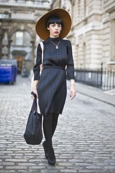 Severe Lady, London | Street Fashion | Street Peeper | Global Street Fashion and Street Style