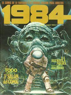 1984 (1978, TOUTAIN) 53 - Portada de Juan Giménez
