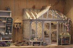 Cabinet full of miniatures