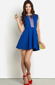 DailyLook: Blue Martini