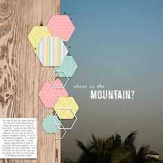 Hexgons No 2. Designed by Soco  and Life in Harmony March by Ange Designs and Designed by Soco