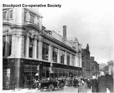 Stockport Uk, Old Photos, Times Square, Street View, Travel, Old Pictures, Viajes, Antique Photos, Vintage Photos