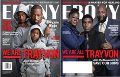 The Martins, Boris Kodjoe, Dwyane Wade, Spike Lee and their sons join 'Ebony' magazine for 'We Are Trayvon' cover series
