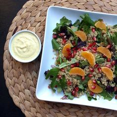 With winter abound, this is a great way to enjoy some of the winter fruits while they are in season. Colorful, flavorful and filling, this salad will be sure to brighten your winter days. The creamy orange-ginger dressing is so light and refreshing. It's like eating an orange creamsicle with ginger added, just delicious. The...Read More »