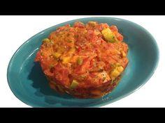 Cocina Muy Sencilla: TARTAR DE ATÚN PICOSO