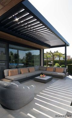 Diy Pergola, Pergola With Roof, Outdoor Pergola, Diy Patio, Backyard Patio, Outdoor Decor, Patio Stone, Flagstone Patio, Budget Patio