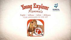 Promo video for Sasol Young Explorer - Mammals. #toolong