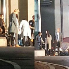 "161017 Sehun was seen filming for ""Dear Archimedes"" Cr. Owner"