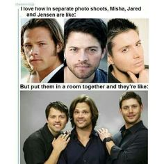 because of reasons ❤ liked on Polyvore featuring supernatural, people and funny