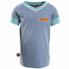 At The End Of Blue, t-shirt (13S1265) | 4funkyflavours babykleding en kinderkleding shop