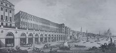 The Adelphi Terrace in the Century. Engraving from Robert Adam's own book The Works in Architecture. Glasgow, Christmas In Scotland, Entrada Frontal, St Catherine Of Alexandria, St Nicholas Church, London Places, Old London, City Streets, Westminster