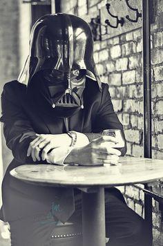 May the 4th (of July) be with you  Darth Vader at a bar