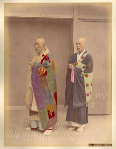 Buddhist Priests by Kusakabe Kimbei
