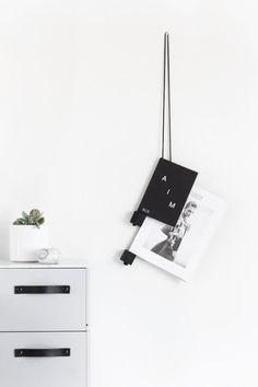 DIY: rope magazine holder - My Dubio