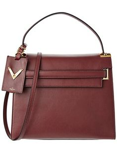 a01d73ca9dc06 Valentino Single Handle Leather Handbag is on Rue.