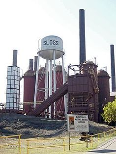 Sloss Furnace in Birmingham, Alabama. Supposed to be one of the most haunted places on America Most Haunted, Haunted Places, Abandoned Places, Haunted America, University Of Alabama, Alabama College, Alabama Football, American Football, College Football