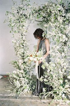 Venue styling can often become repetitive, with the stock standard use of roses and greenery. I'm loving the use of pampas grass and cotton to create an ethereal vision for weddings, masses o…