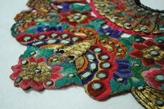China - detail of collar - 19th century, Qing dynasty