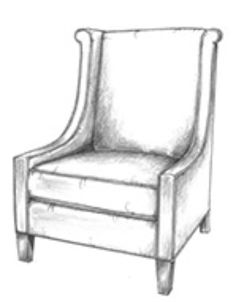 Calhoun Wingback Chair Gorge Ous | Library Love | Pinterest | Wingback  Chairs, Living Room Furniture And Stools