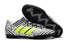 buy popular ab89c f6031 2017-2018 FIFA World CUP New Soccer Cleats Adidas Nemeziz Tango 17 3 TF  Black White Yellow