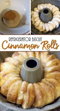This delicious Biscuit Cinnamon Roll is a very easy recipe to make for a crowd.